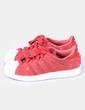 Chaussure rouge de sport superstar de la Adidas