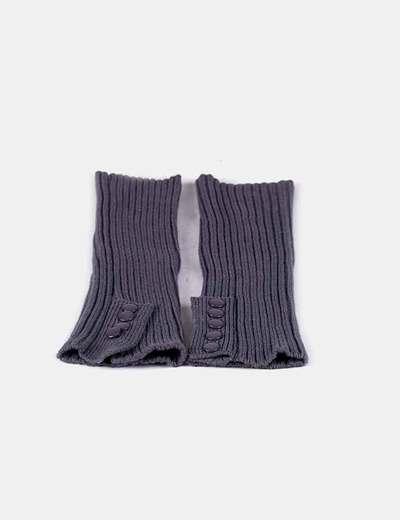 Calentadores lana gris
