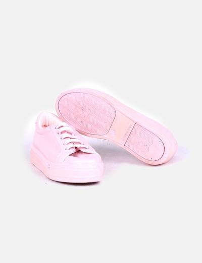 Zapatilla rosa chicle
