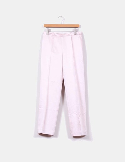 Luis civit Pantalón de pinzas rosa palo (descuento 98%) - Micolet d081a346a6d8