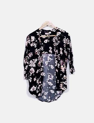 Kimono floral Bershka