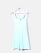Vestido de tirantes azul H&M