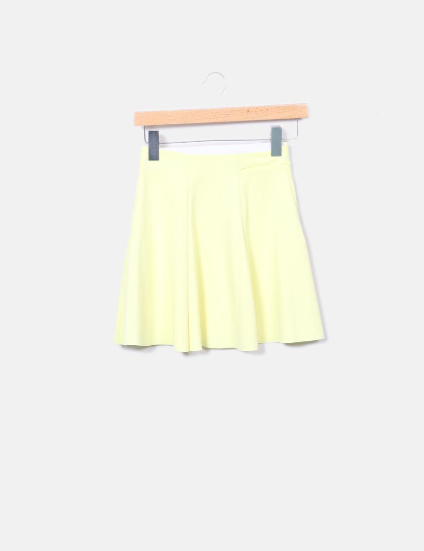 54e4d3fab online Faldas Falda vuelo Bershka amarilla baratas de ZWYqPwH |bury ...