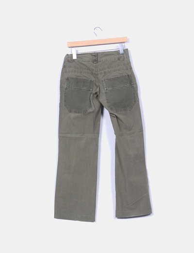 Pantalon verde safari
