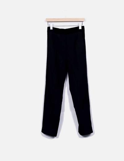 Pantalón negro combinado NoName