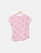 Top rosa print perros Bershka