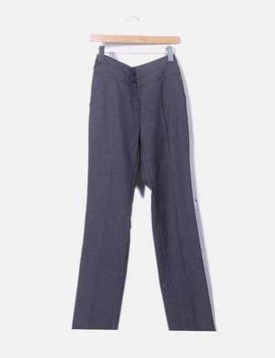 Pantalón chino jaspeado