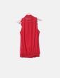 Blusa roja con volantes Suiteblanco