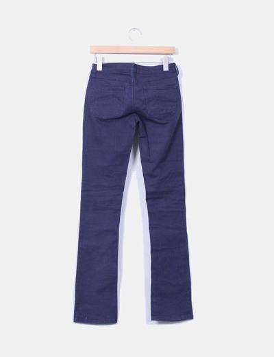 Jeans denim azul marino skinny