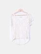Camiseta beige combinada Pull&Bear