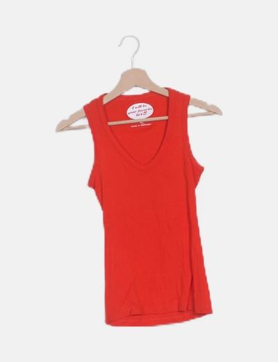 Camiseta roja basic
