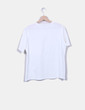 Camiseta blanca bolsillo perlas Armonias