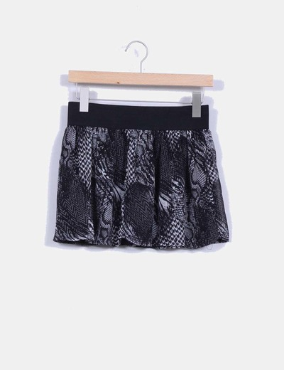 Mini falda print animal NoName