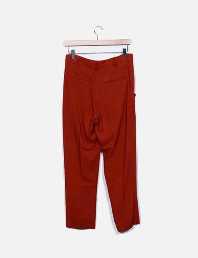 Pantalon pinzas caldera