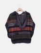 Poncho en tricot avec capuche K.woman