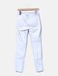 Jeans denim pitillo azul claro Zara