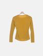 Camiseta amarilla manga larga estampada Uscita