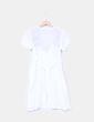 Vestido blanco bordado Estudio Erre