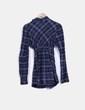Camisola azul de cuadros NoName