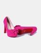 Zapatos de tacón con lazo Lunhui