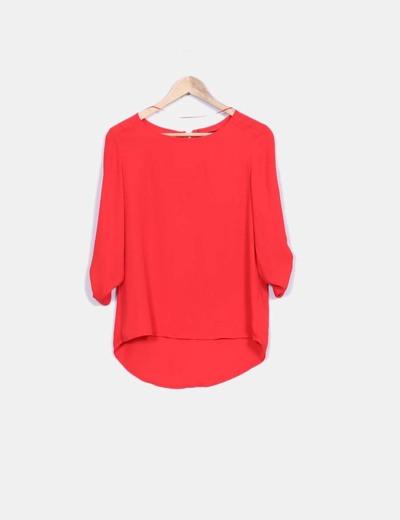 Blusa roja fluida Atmosphere