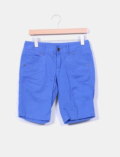 Bermuda denim azul  Benetton