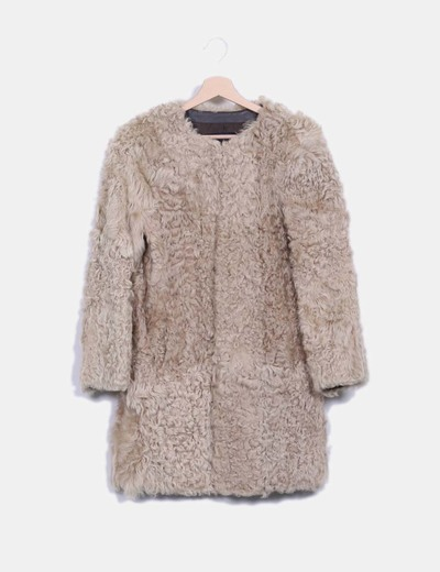 Abrigo piel oveja