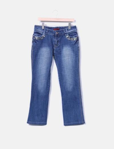 Jeans vaquero recto NoName
