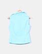 Blusa azul turquesa texturizada Vero Moda