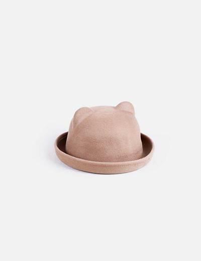 Sombrero marrón orejad NoName