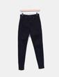 Pantalon noir taille haute Bershka