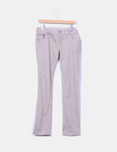 Pantalon beige Vero Moda