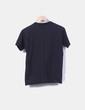 Camiseta negra bordada NoName