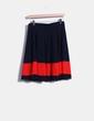 Mini-jupe deux couleurs en maille Vero Moda