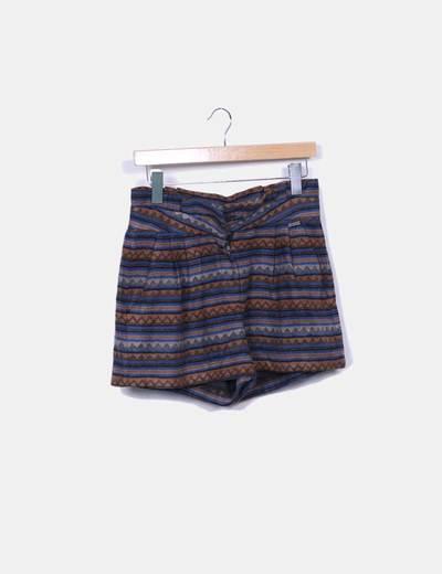 Short tricot étnico Pepe Jeans