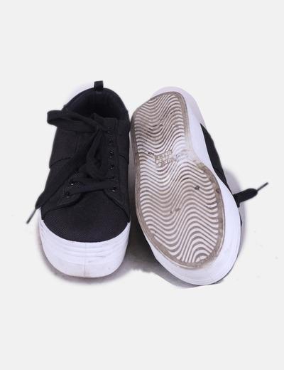 354ecec1 Primark Zapatilla negra con plataforma (descuento 41%) - Micolet