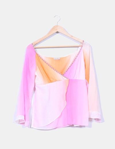 Blusa de colores Claudia Bastos