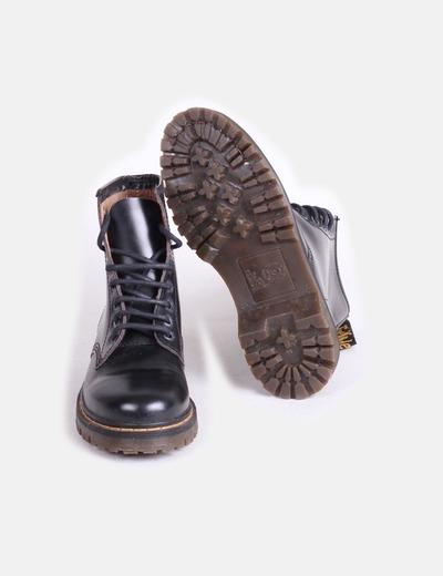 1ab60af590a Brako Botas negras con cordones (descuento 82 %) - Micolet