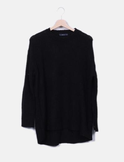 Zara Schwarzer Oversize-Pullover (Rabatt 75 %) - Micolet 3a2b740a1e