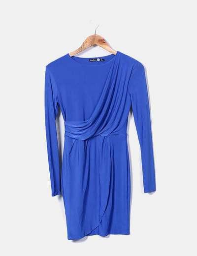 Robe bleu klein Boohoo