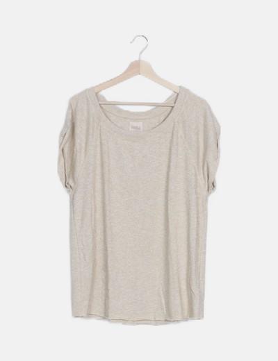 Camiseta tricot glitter