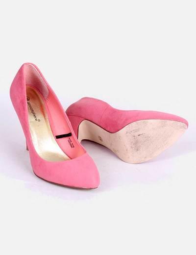 Zapato Tacon Rosa