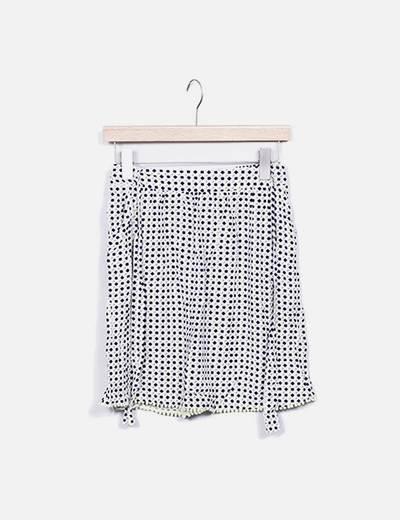 Minifalda estampada Akoz