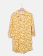 Robe jaune en tissu imprimé Compañía Fantástica