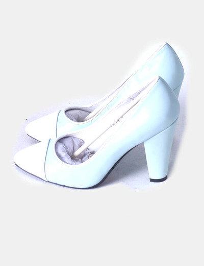 Zapatos heels beaulieu azul claro YULL