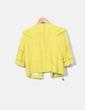 Chaqueta tweed amarilla Pinko