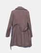 Abrigo marrón con cinturón Miss Sixty