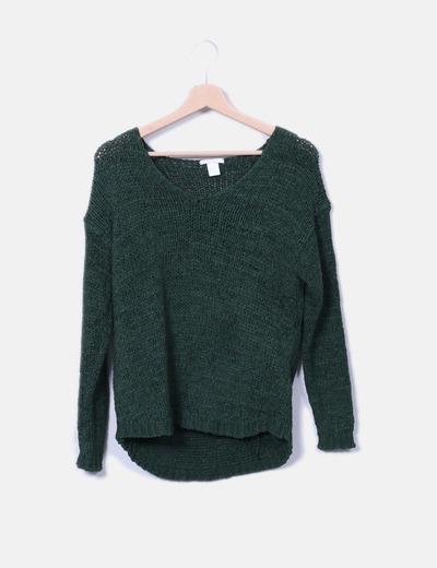 Jersey verde H&M