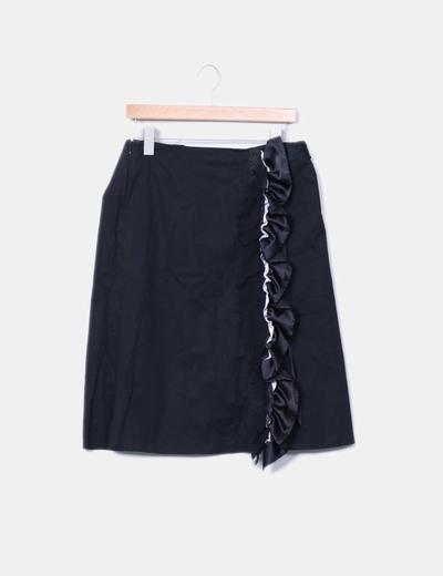 Falda midi volantes Dolce&Gabbana