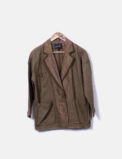 Blazer vert à poches Isabel Marant